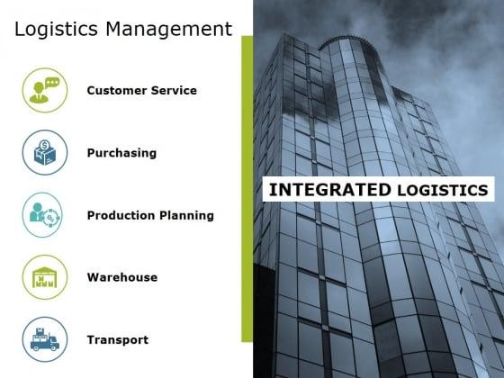 Logistics Management Ppt PowerPoint Presentation Icon Graphics