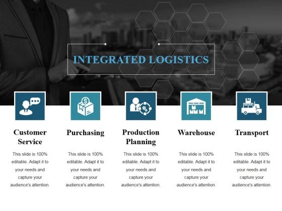 Logistics Management Ppt PowerPoint Presentation Professional Slide Portrait