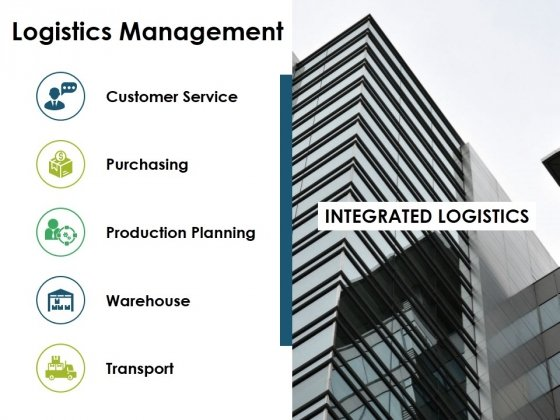 Logistics Management Ppt PowerPoint Presentation Styles Ideas