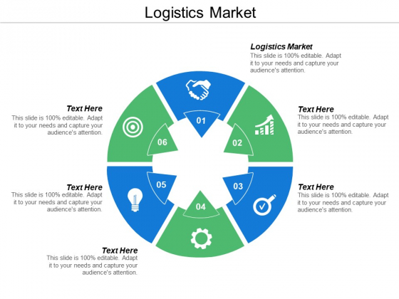 Logistics Market Ppt Powerpoint Presentation Inspiration Diagrams Cpb