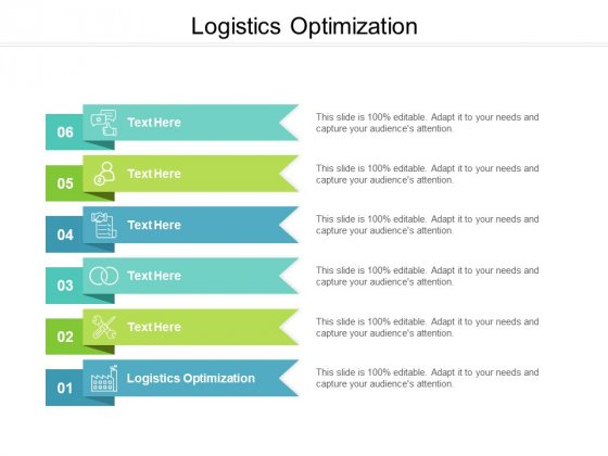 Logistics Optimization Ppt PowerPoint Presentation Icon Examples Cpb