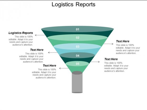 Logistics Reports Ppt PowerPoint Presentation Icon Introduction Cpb