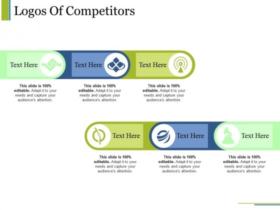 Logos Of Competitors Ppt PowerPoint Presentation File Vector