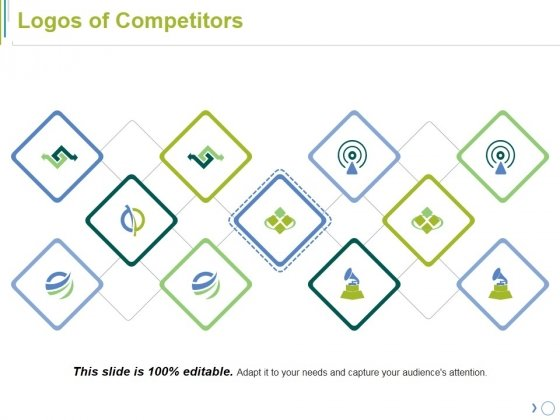 Logos Of Competitors Ppt PowerPoint Presentation Infographic Template Influencers