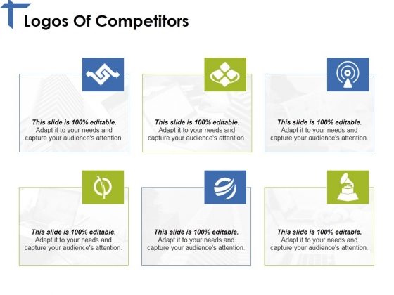 Logos Of Competitors Ppt PowerPoint Presentation Outline Show