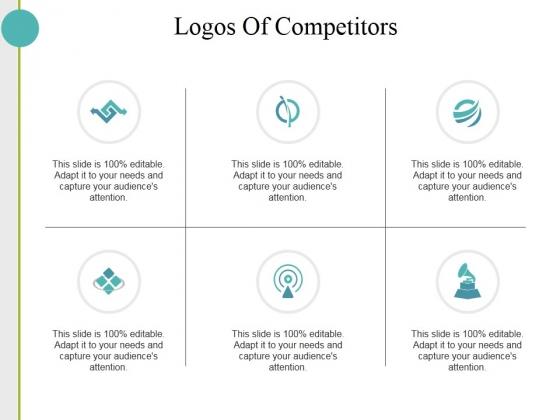 Logos Of Competitors Ppt PowerPoint Presentation Slides Portrait