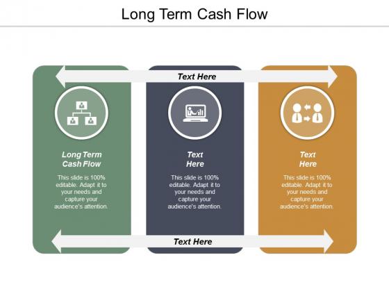 Long Term Cash Flow Ppt PowerPoint Presentation Styles Slide Portrait Cpb
