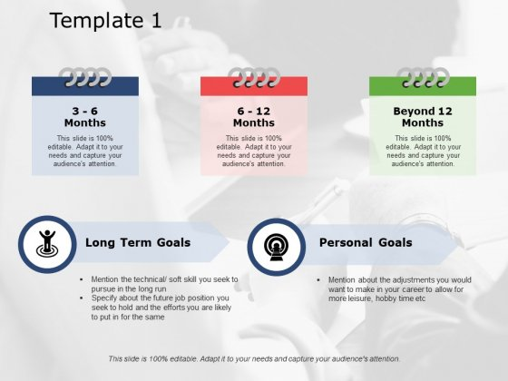 Long Term Goals Ppt PowerPoint Presentation Slides Design Ideas