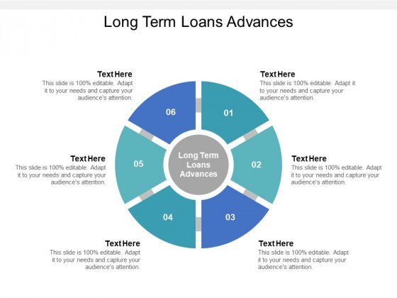 Long Term Loans Advances Ppt PowerPoint Presentation Ideas Infographics Cpb Pdf