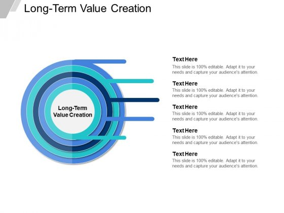 Long Term Value Creation Ppt PowerPoint Presentation Layouts Backgrounds Cpb
