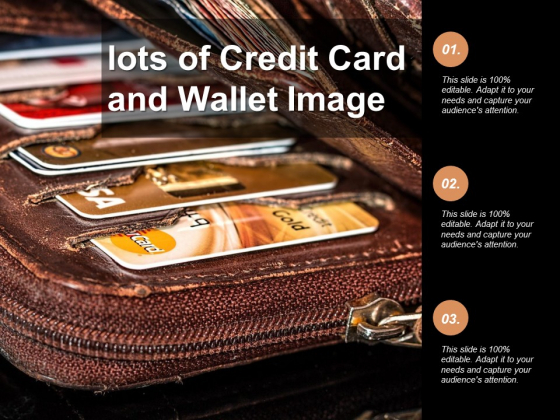 Lots Of Credit Card And Wallet Image Ppt PowerPoint Presentation Model Example