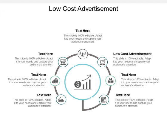 Low Cost Advertisement Ppt PowerPoint Presentation Model Template Cpb
