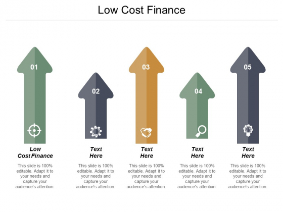 Low Cost Finance Ppt PowerPoint Presentation File Files Cpb