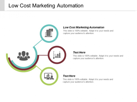 Low Cost Marketing Automation Ppt PowerPoint Presentation Infographics Graphics Template Cpb