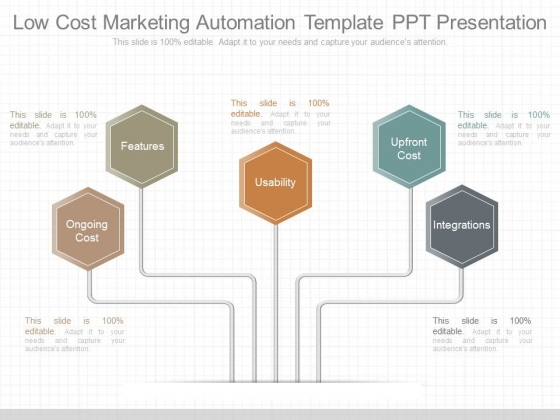 Low Cost Marketing Automation Template Ppt Presentation