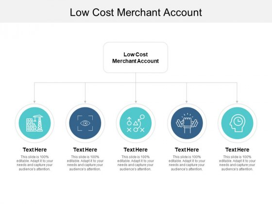 Low Cost Merchant Account Ppt PowerPoint Presentation Slides Deck Cpb