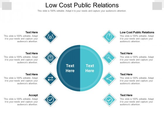 Low Cost Public Relations Ppt PowerPoint Presentation Summary Graphics Design Cpb Pdf