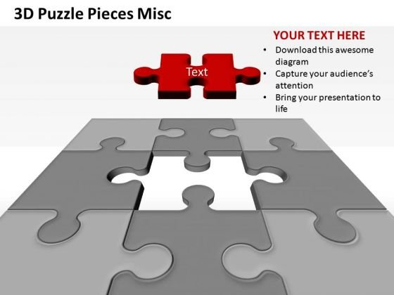 Last Puzzle Piece Solution Ppt Slides PowerPoint Graphics
