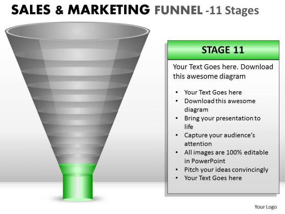 Last Stage Of Sales Conversion Funnel PowerPoint Slides And Ppt Diagram Templates
