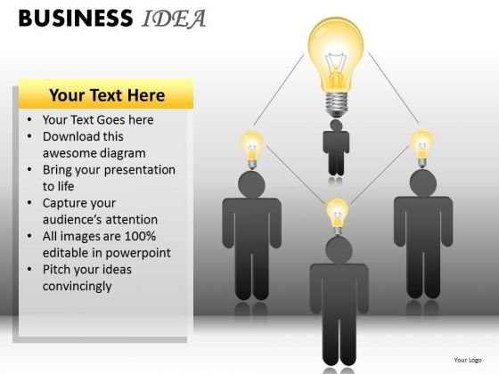 Leadership Idea Network PowerPoint Ppt Templates