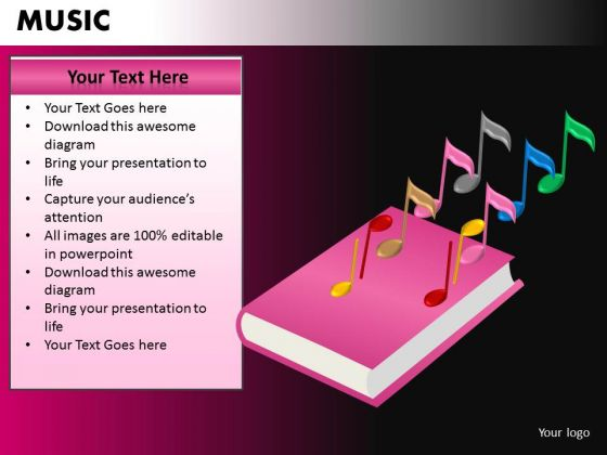 Learn Music PowerPoint Templates Editable Ppt Slides
