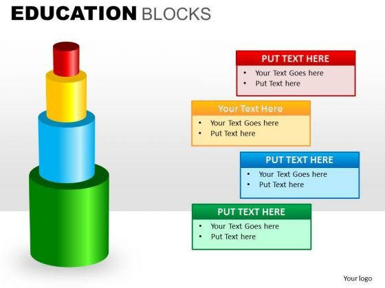 Learning To Build Education PowerPoint Templates Editable Ppt Slides