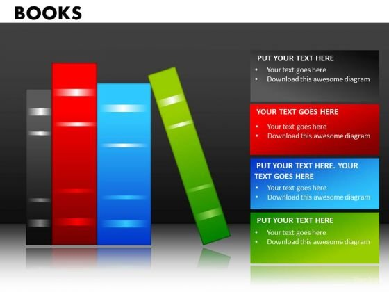 Library Books Education PowerPoint Ppt Templates