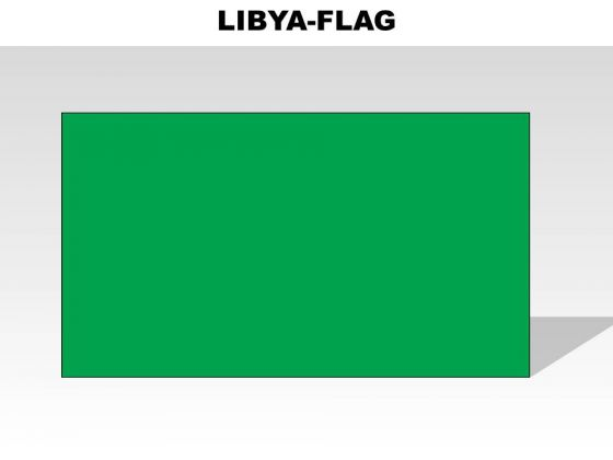 Libya Country PowerPoint Flags