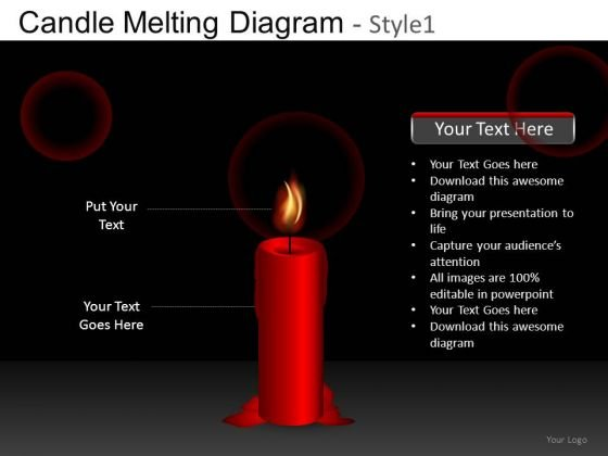 Light A Candle PowerPoint Templates