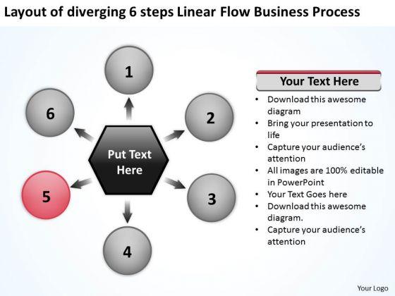 Linear Flow World Business PowerPoint Templates Process Ppt Gear
