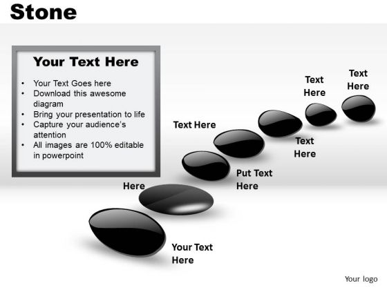 List Slides Stones PowerPoint Slides And Ppt Diagram Templates
