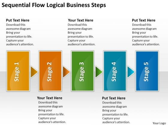 Logical new business powerpoint presentation steps basic process logical new business powerpoint presentation steps basic process flow chart templates powerpoint templates friedricerecipe Choice Image
