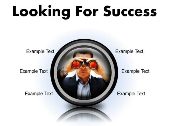 Looking For Success Business PowerPoint Presentation Slides Cc