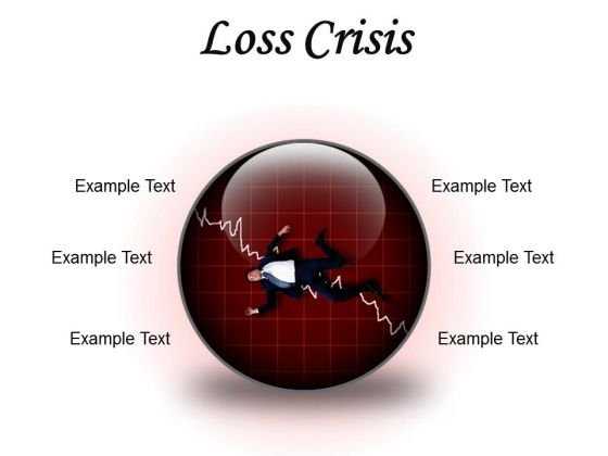 Loss Crisis Business PowerPoint Presentation Slides C