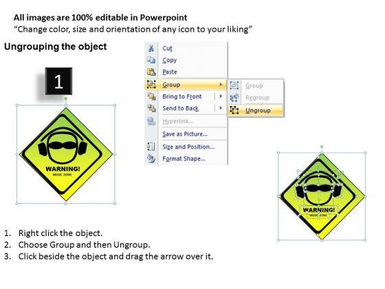 loud_music_warning_powerpoint_templates_ppt_design_slides_2