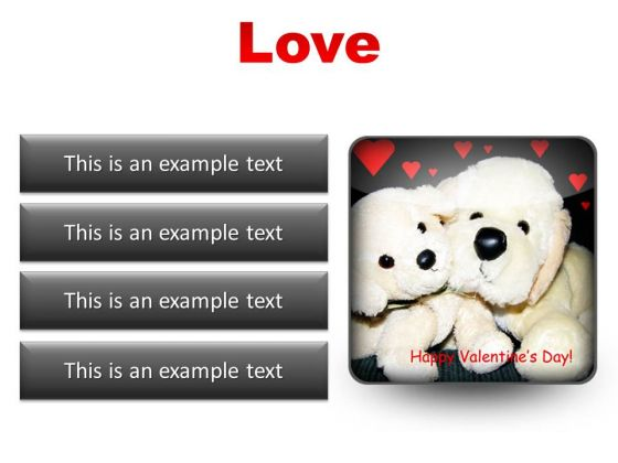 Love Metaphor PowerPoint Presentation Slides S