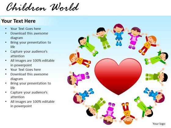 Love School Children World PowerPoint Slides And Ppt Diagram Templates