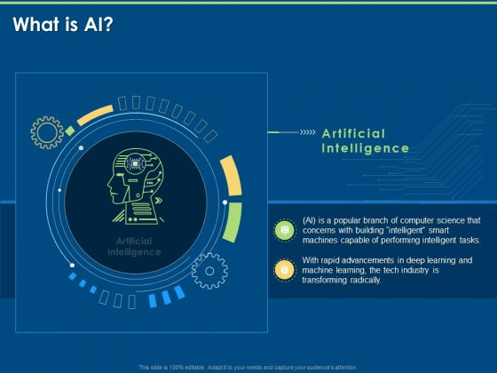 Machine Learning Artificial Intelligence And Deep Learning Classification What Is AI Ppt Styles Slide PDF