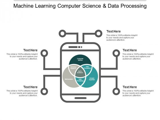 Machine Learning Computer Science And Data Processing Ppt PowerPoint Presentation Show Slideshow