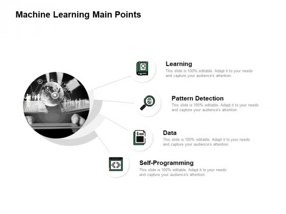 Machine Learning Main Points Ppt PowerPoint Presentation Pictures Show