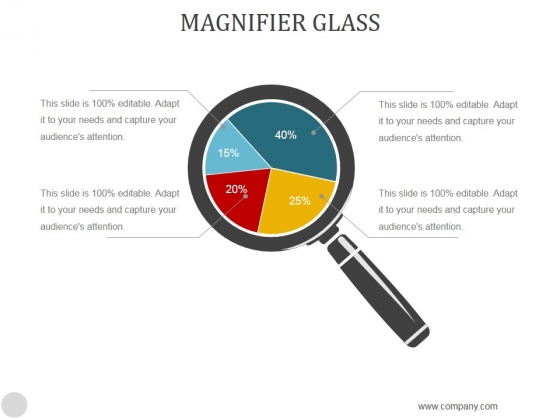 Magnifier Glass Ppt PowerPoint Presentation Example