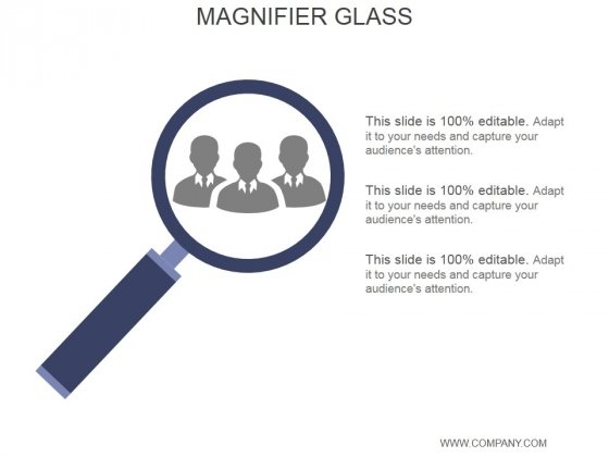 Magnifier Glass Ppt PowerPoint Presentation Guide