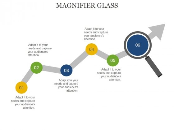 Magnifier Glass Ppt PowerPoint Presentation Summary Microsoft