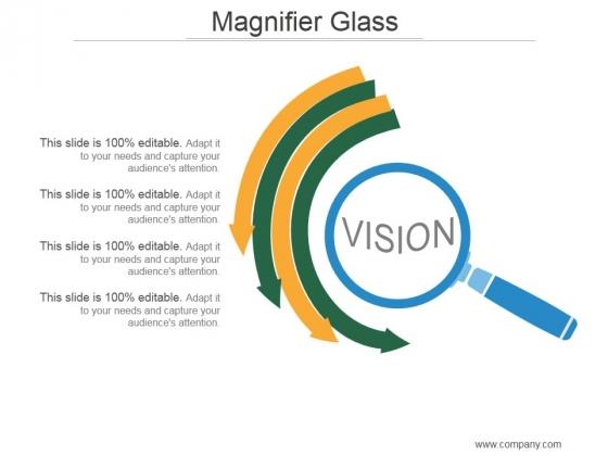 Magnifier Glass Ppt PowerPoint Presentation Templates