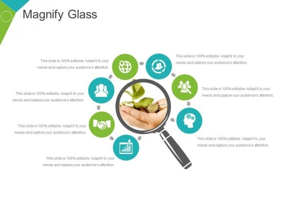 Magnify Glass Ppt PowerPoint Presentation Infographic Template Template