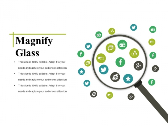 Magnify Glass Ppt PowerPoint Presentation Layouts Gridlines