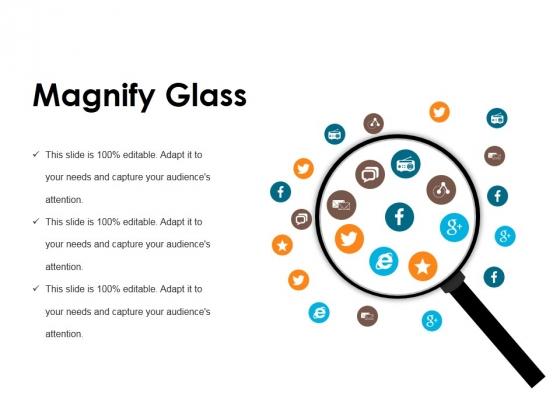Magnify Glass Ppt PowerPoint Presentation Outline Portfolio