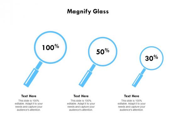 Magnify Glass Technology Ppt PowerPoint Presentation Model Deck