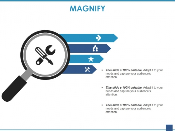 Magnify Ppt PowerPoint Presentation Professional Maker