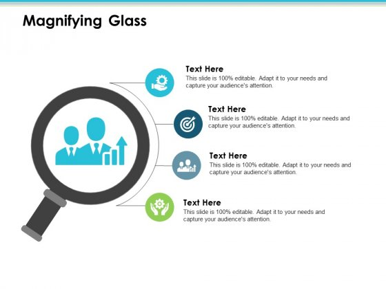 Magnifying Glass Employee Value Proposition Ppt PowerPoint Presentation Layouts Graphics Template
